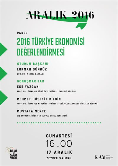 2016 Turkish Economic Assesment