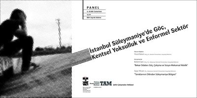 Immigration, Urban Poverty and Informal Sector in Sulaymaniye