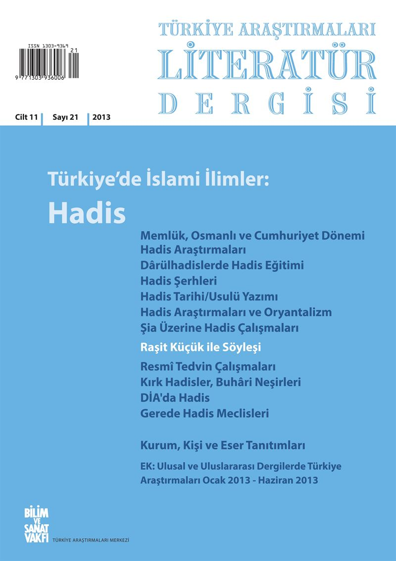 21 - Islamic Sciences in Türkiye: Hadith