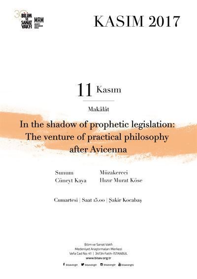 In the shadow of prophetic legislation: The venture of practical philosophy after Avicenna